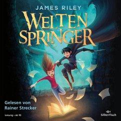 Weltenspringer Bd.1 (4 Audio-CDs) - Riley, James