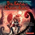 Der Feuerthron / Kane-Chroniken Bd.2 (6 Audio-CDs)
