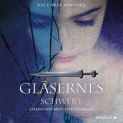 Gläsernes Schwert / Die Farben des Blutes Bd.2 (2 MP3-CDs) - Aveyard, Victoria