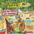 Auf der Fährte der Indianer / Das magische Baumhaus Bd.16 (1 Audio-CD)