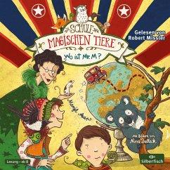 Wo ist Mr. M? / Die Schule der magischen Tiere Bd.7 (2 Audio-CDs) - Auer, Margit