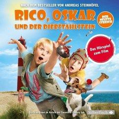 Rico, Oskar und der Diebstahlstein - Das Filmhörspiel, 2 Audio-CDs - Steinhöfel, Andreas