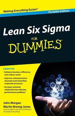 Lean Six Sigma For Dummies - Morgan