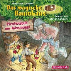 Piratenspuk am Mississippi / Das magische Baumhaus Bd.40 (1 Audio-CD) - Pope Osborne, Mary