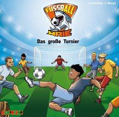 Das große Turnier / Fußball-Haie Bd.2 (Audio-CD) - Schlüter, Andreas; Margil, Irene