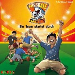 Ein Team startet durch / Fußball-Haie Bd.3 (Audio-CD) - Schlüter, Andreas; Margil, Irene