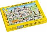 Frühlings-Wimmel-Puzzle (Kinderpuzzle)