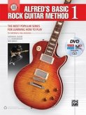 Alfred's Basic Rock Guitar Method, Bk 1: The Most Popular Series for Learning How to Play, Book, DVD & Online Audio, Video & Software
