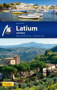 Latium mit Rom Reiseführer - Fritz, Florian