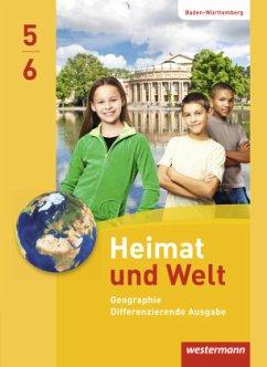 Heimat und Welt 5 /6. Schülerband. Baden-Württe...