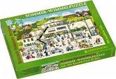 Sommer-Wimmel-Puzzle (Kinderpuzzle)