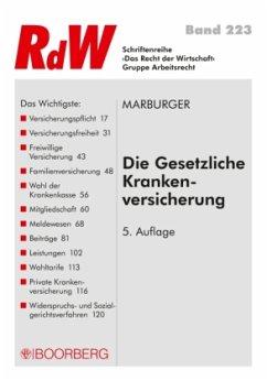 Die Gesetzliche Krankenversicherung - Marburger, Horst