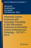 Information Systems Architecture and Technology: Proceedings of 36th International Conference on Information Systems Architecture and Technology - ISAT 2015 - Part II