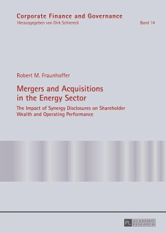 Mergers and Acquisitions in the Energy Sector - Fraunhoffer, Robert