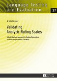 Validating Analytic Rating Scales
