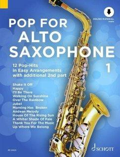 Pop For Alto Saxophone, 1-2 Alt-Saxophone