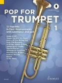 Pop For Trumpet, 1-2 Trompeten, m. Audio-CD