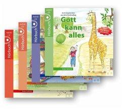 Gott kann alles-Hörbuchreihe im Set, 4 Audio-CDs - Habicht, Katja