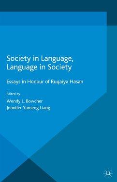 Society in Language, Language in Society (eBook, PDF)