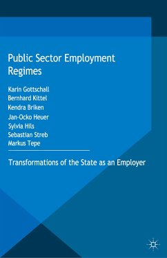 Public Sector Employment Regimes (eBook, PDF)