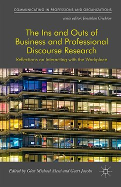 The Ins and Outs of Business and Professional Discourse Research (eBook, PDF)