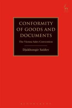 Conformity of Goods and Documents (eBook, ePUB) - Saidov, Djakhongir
