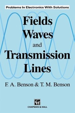 Fields, Waves and Transmission Lines (eBook, PDF) - Benson, M.