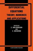 Differential Equations Theory, Numerics and Applications (eBook, PDF)