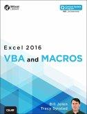 Excel 2016 VBA and Macros (includes Content Update Program) (eBook, ePUB)