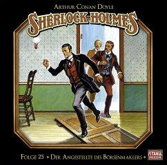 Sherlock Holmes - Der Angestellte des Börsenmaklers, Audio-CD - Doyle, Arthur Conan