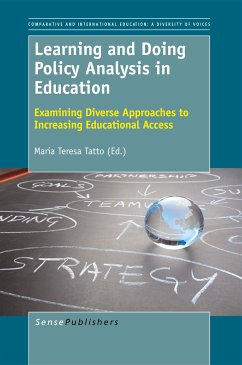 Learning and Doing Policy Analysis in Education: Examining Diverse Approaches to Increasing Educational Access (eBook, PDF)