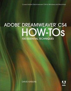 Adobe Dreamweaver CS4 How-Tos (eBook, PDF) - Karlins David
