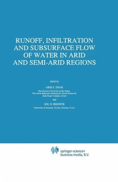Runoff, Infiltration and Subsurface Flow of Water in Arid and Semi-Arid Regions (eBook, PDF)