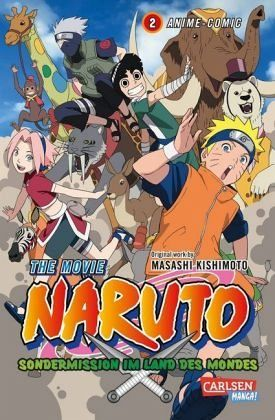Buch-Reihe Naruto the Movie