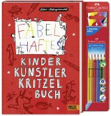 Fabelhaftes Kinder Künstler Kritzelbuch