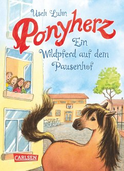 Ein Wildpferd auf dem Pausenhof / Ponyherz Bd.7 - Luhn, Usch