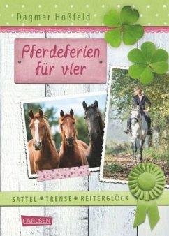 Pferdeferien für vier / Sattel, Trense, Reiterg...