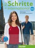 Medienpaket, 5 Audio-CDs und 1 DVD zum Kursbuch / Schritte international Neu - Deutsch als Fremdsprache Bd.1/2