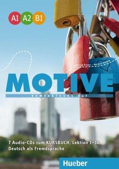 Motive A1-B1 / Motive - Kompaktkurs DaF, Einbändige Ausgabe - Krenn, Wilfried; Puchta, Herbert