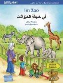 Im Zoo. Kinderbuch Deutsch-Arabisch