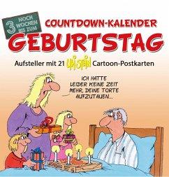Countdown-Kalender Geburtstag - Stein, Uli