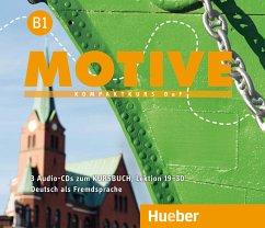 Audio-CDs zum Kursbuch, Lektion 19-30 / Motive - Kompaktkurs DaF Bd.B1 - Krenn, Wilfried; Puchta, Herbert