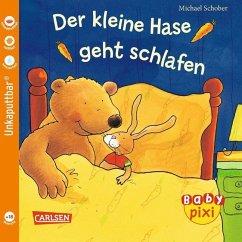 Eines der wunderbaren Baby Pixi Bücher: Der kleine Hase geht schlafen. Geeignet als Babybuch.