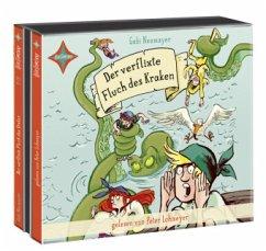 Der verflixte Fluch des Kraken / Inselpiraten Bd.2 (3 Audio-CDs) - Neumayer, Gabi