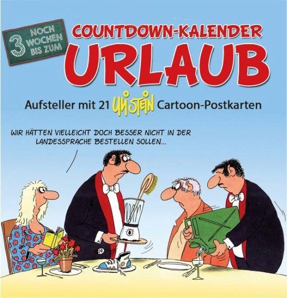 Countdown Kalender Urlaub Von Uli Stein Kalender Portofrei Bestellen