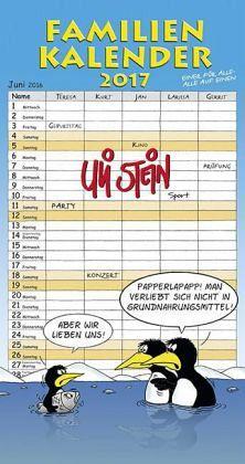 Familienkalender 2017 - Stein, Uli