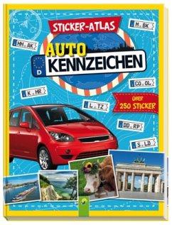 Sticker-Atlas Autokennzeichen