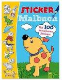 Stickermalbuch Tiere