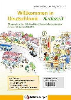 Willkommen in Deutschland - Redezeit - Kresse, Tina; McCafferty, Susanne; Schied, Alisa