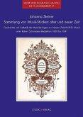 Sammlung von Musik-Stücken alter und neuer Zeit